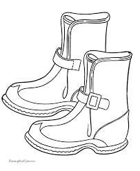 Small Picture boots picture to color