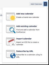 Create Add And Edit Calendars Atlassian Documentation