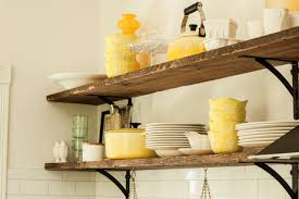 Rustic Kitchen Shelving Rustic Kitchen Shelves Our Vintage Home Love Reclaimed Wood