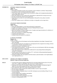 Digital Design Engineer Resume IC Design Engineer Resume Samples Velvet Jobs 6
