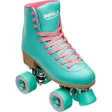 Details About Impala Sidewalk Rollerskates Aqua Size 6