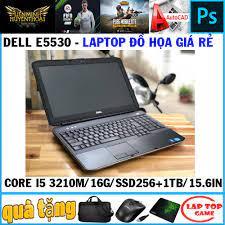 chơi game+ đồ họa) Dell Latitude E5530 core i5 3210M laptop cũ giá rẻ siêu  bền bỉ