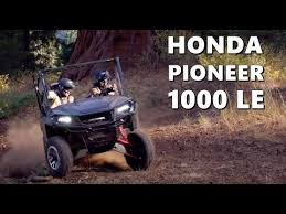 2018 honda pioneer.  2018 2018 honda pioneer 1000 le  technical highlights and honda pioneer