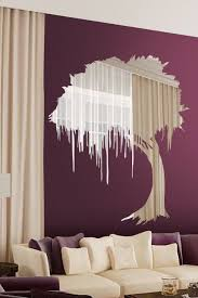 beautiful wall sticker that acts like a mirror reflective wall decals home building furniture and interior design ideas