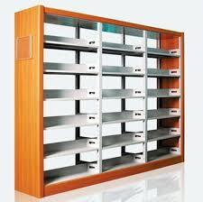 office book shelf. Double-Sided Steel-Wood Bookshelf For Library/Book Shelf/Office Furniture/ Office Book Shelf E