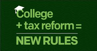 Tax Reform And Education H R Block