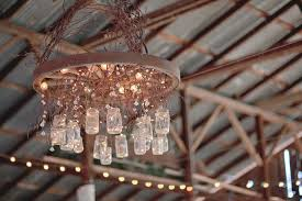 here is a beautiful vintage mason jar chandelier that would be perfect for a vintage chic affair