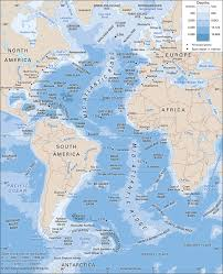 Ocean Depth Chart Atlantic Ocean Location Facts Maps Britannica