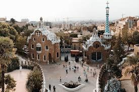 Mehr als 500 einträge für treppenstufen. Guell Park Barcelona Spanien Hisour Kunst Kultur Ausstellung