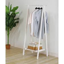 Wooden Coat Rack With Storage Bamboo Clothes Rack Wooden And Different Types Of Throughout Wood 84