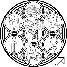 Small Picture Cinderella Stained Glass Vector line art by Akili Amethyst on