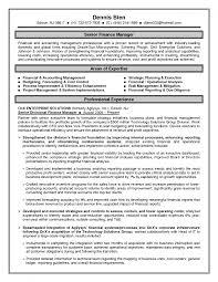 Cover Letter Sample Finance Manager Resume Sample Finance Project