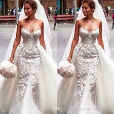 Image result for wedding dresses with detachable overskirt