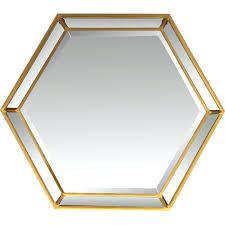 hexagon wall mirror reviews tiles