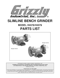 Grizzly T24463 6 Bench Grinder With Work Light Grizzly Bench Grinder Wiring Diagram Bench Grinder Stand