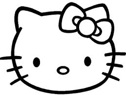 Kleurplaat Hello Kitty Verjaardag
