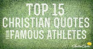 Famous Athlete Quotes Extraordinary Top 48 Quotes From Famous Athletes ChristianQuotes