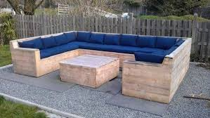Gorgeous Outdoor Patio Sectional Sofa Pallet Outdoor Furniture Fascinating  With 15 Diy Outdoor Pallet