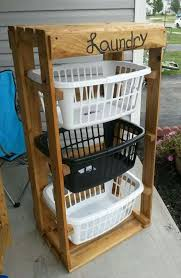 pallet furniture pinterest. Laundry Center Made From Pallets Pallet Furniture Pinterest