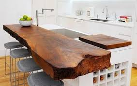 guanacaste parota wood slab countertops and table tops