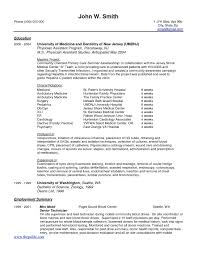 New Grad Resume Template Gorgeous Sample Resume Physician Assistant New Graduate New Resumes