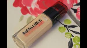 l oreal paris infallible stay fresh 24 hour foundation review