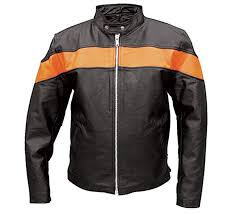 allstate leather inc men s leather scooter jacket