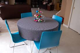 round tablecloth tutorial