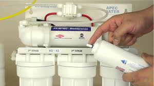 How To Change Reverse Osmosis Filters Replacing A Reverse Osmosis Inline Carbon Filter With Compression