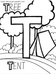 Small Picture Fresh Letter T Coloring Page 77 For Your Free Colouring Pages with