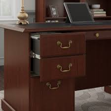computer hutch home office traditional. Home Office Desk With Shelves Table Chair Quality Furniture Traditional Drawer Cabinet Workstation Computer Hutch Wide