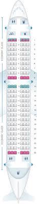 Seat Map Croatia Airlines Airbus A319 Seatmaestro