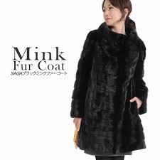 saga mink black fur coat m2685 womens long coat luxury coat mink coat fur