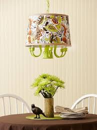 diy modern lamp design comes with the amazing idea lime green diy chandelier with fabric