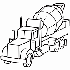 16 Best Of Photograph Of Cement Mixer Coloring Page Coloring Pages