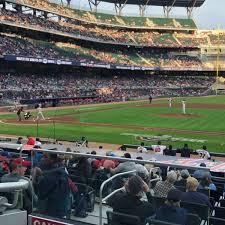 Suntrust Park Section 118 Home Of Atlanta Braves