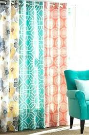 Teal Patterned Curtains Best Teal And Grey Curtains Teal And Grey Blackout Curtains Teal