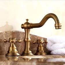 antique brass bathroom faucet deck mounted antique brass bathroom bronze bathroom faucet antique swan bathroom basin