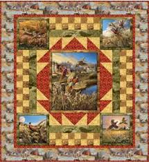 347 best Quilts Wildlife images on Pinterest | Panel quilts, Quilt ... & Pheasant Country Quilt Pattern (free) Adamdwight.com