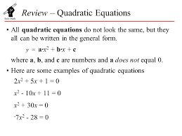 solving quadratic equations using the formula worksheet tes