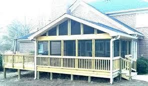 aluminum screen room kits porch kit screened in patio diy hanging divider porc