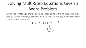 multi step math equations worksheets problems quiz worksheet solving one algebra in word 8th grade linear