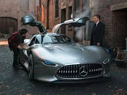 One core theme of the innovative interior concept is a continuous exchange of information between vehicle, passengers and the outside world. Batman Gets Stunning Mercedes Concept As New Ride Carbuzz