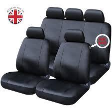 chrysler full set of black leatherette car seat covers neon sebring ypsilon