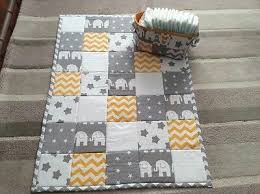 42 best Baby Play Mats images on Pinterest | Baby gifts, Baby play ... & Baby quilt/playmat with matching nappy bag - Handmade Adamdwight.com