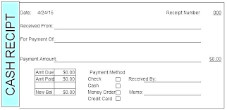Paid Receipt Form Payment Received With Thanks Template Andrewhaslen Co