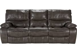 grey leather recliner. Cindy Crawford Home Gianna Gray Leather Reclining Sofa - Sofas (Gray) Grey Recliner