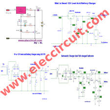 automatic mobile battery charger circuit diagram images light cum lead acid battery charger schematicacidwiring harness wiring diagram