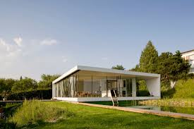 Two Glass Facades Open House M To The Danube Valley Views