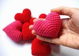 Crochet Heart Pattern Free Interesting Crochet Stuffed Heart Pattern Archives The Crochet Club